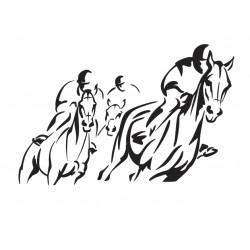 chevaux de course 1
